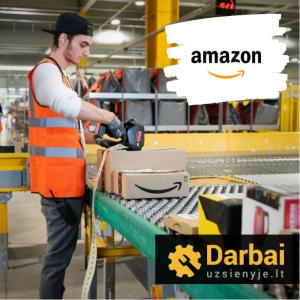 """""""Amazon"""" samdo, bet ar jie siūlo darbą namuose?"""
